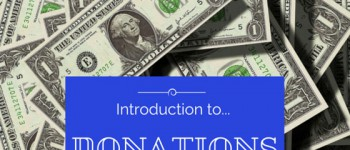 Introduction to DONATIONS